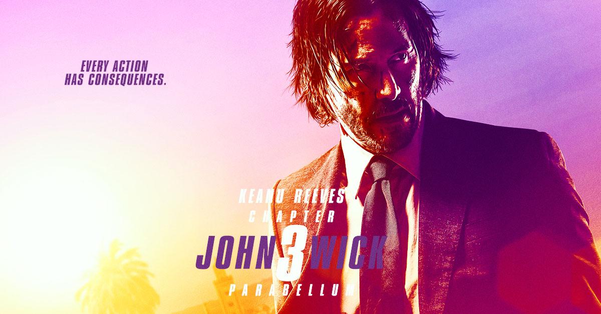 Keanu Reaves in John Wick 3